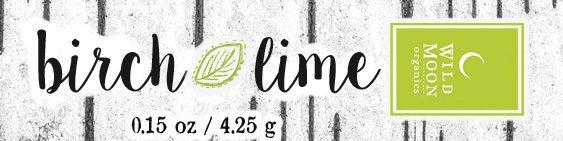 Birch+Lime Lip Balm Wild Moon Organics